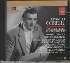 Franco Corelli: His Early Cetra Electric Records - CD