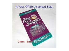 Ring Snuggies Ring Size Adjuster Guards Guard rings.Assorted 6 pcs.Made in USA