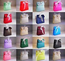 Box Bag Wedding Favour Boxes - Choose Colour - Choose QTY - SC12. 10, 50, 100