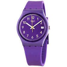 Swatch Purplazing Quartz Purple Dial Ladies Watch GV402