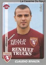 CLAUDIO RIVALTA ITALIA TORINO.FC RARE UPDATE STICKER CALCIATORI 2009 PANINI