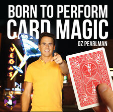 CARD MAGIC - OZ PEARLMAN - BORN TO PERFORM - DVD - BRAND NEW by PENGUIN MAGIC