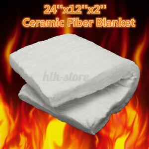 610x300x50mm Ceramic Fiber Blanket High Temperature Thermal Ceramics Insulation