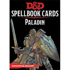 Dungeons & Dragons D&D 5E 5th Edition Spellbook Cards: Paladin (New)