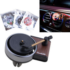 Retro Car Air Conditioning Outlet Perfume Record Player Car Aromatherapy