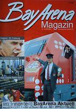Programm 2000/01 Bayer 04 Leverkusen - SC Freiburg