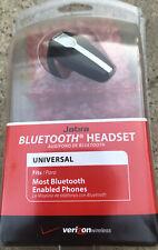Verizon Jabra Universal Bluetooth Headset Vbt135Z Black Ear Hook New Sealed