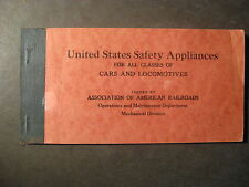 UNITED STATES SAFETY APPLIANCES FOR ALL CLASSES OF CARS AND LOCOMOTIVES 1950