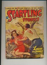Startling Stories March 1947 Vintage Pulp Magazine Very Good Plus