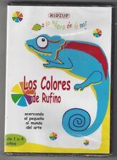 Los Colores De Rufino (DVD, 2008, Spanish, Kidzup) Free Shipping !!!