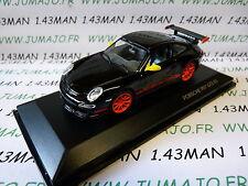 voiture 1/43 ROAD SIGNATURE : PORSCHE 997 GT3 RS noire & orange