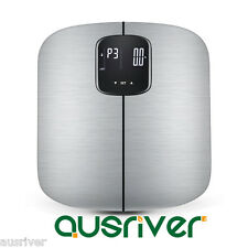 Black Digital Body Fat Scale Bathroom Scales Gym Weight Electronic LED Display