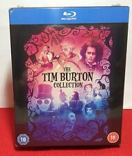 Tim Burton Bluray Boxset Collection -8 movies- Region Free -Brand NEW- Free S&H