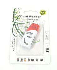 Lettore Memory Card Reader Usb 2.0 Schede Memoria 32in1 Sd MMc 480Mbps hsb