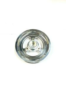 OBX Silver Underdrive Crank Pulley For 95-99 Mitsubishi Eclipse 2.0L DOHC N/A