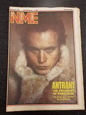 NME: New Musical Express: Adam Ant, Dr Who, Talk Talk, Rhoda, 16th Jan 1982