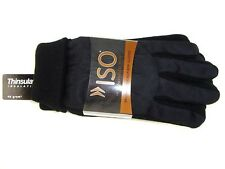 ISOTONER Thinsulate Insulation Men's Black Winter Gloves One Size