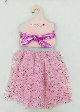Toby & Me Girl's Tulle Skirt and Headband Pink Size  4-6X