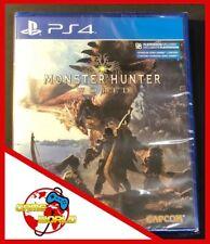 MONSTER HUNTER WORLD - PS4 Playstation 4 - ITALIANO - Nuovo - OFFERTA LIMITATA
