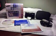 Samsung ST100 - Digital camera - compact - 14.2 Mpix - optical zoom: 5 x - su...