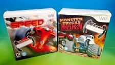 2 NEW Games! Speed & Monster Trucks Mayhem & 2 Wheels ! - Nintendo Wii Wii U FUN
