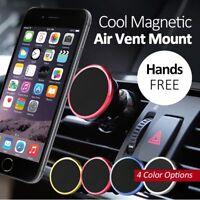 support auto magnétique universel noir/rouge smartphone Apple iPhone 5/6/7/8/X