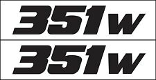 351 HP Windsor Engine Metro Auto Graphics Decal Sticker Fits Ford 1962