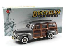 "Brooklin Models BML 23 - 1948 Ford V8 ""Woodie"" Station Wagon Rotunda gray 1/43"