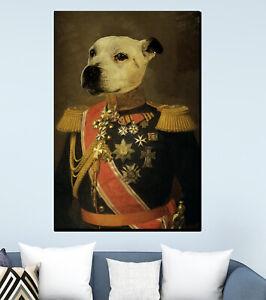 Personalised Novelty Dog Painting Portrait