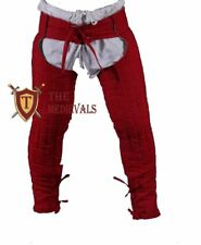 HALLOWEEN THICK PADDED LAGGING CHAUSSES LOWER UNDER GAMBESON HAUBERK MEDIEVAL