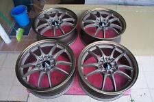 """JDM 17"""" MF10 MF8 Style wheels rims Honda ctr itr ek9 ef8 ef9 sb3 eg6 cb3 MUGEN"""