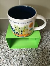 NEW BOXED STARBUCKS MUG NEWCASTLE UPON TYNE  YOU ARE HERE COLLECTION