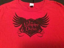 The Vampire Diaries Love Sucks Red Shirt XL Junior's T-Shirt Extra Large