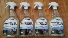 4 Bottles Shaw Floors Carpet Stain & Soil Remover! & couple FREE cleaning suppli