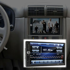 "2 Din 7"" FM Bluetooth Radio Audio Stereo Car Video Player&HD Camera Touch Screen"