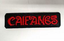 CAIFANES Embroidered Patch IRON/SEW Jaguares Rock en Español Maldita Vecindad