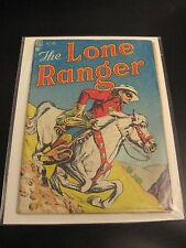 LONE RANGER #4 Dell 1948 (VG-) Bright & Colorful!