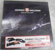 coffret 4 vinyles 33t  NEUF SCELLE  JOHNNY HALLYDAY tour 66 stade de France 2009