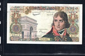 Billet 100 Nouveaux Francs Bonaparte 04/10/62 TTB+ Fay 59-17