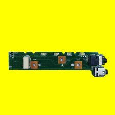 Original For ASUS Laptop G74S G74SX LED Board Audio JACK USB IO Board Rev 2.0