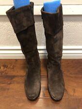 Dansko Risa Brown Suede Knee High Heeled Womens Boots Size 10 Us  40 Eur