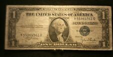 Series 1935 C One 1 Dollar Silver Certificate Y 55964561 D