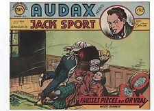 AUDAX première série n°62. BOB DAN.  Ed. Artima 1952. NEUF