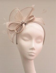 Stone Sinamay Fascinator