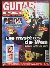 Guitar Part n°94; Les mystères de Wes/ Pink Floyd/ Cake/ Dan Brodie/ il Nino