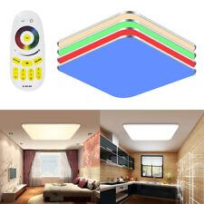 36W RGB Deckenlampe LED Deckenleuchte Modern Flurlampe Wandlampe Fernbedienung