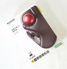 ELECOM 2.4GHz Wireless Finger-operated Large size Trackball Mouse 8-Button Fu...