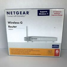 Netgear Wireless-G Router WGR614 54MBPS 2.4 GHz 802.11g DSL Cable Connectivity
