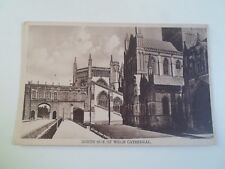 Vintage Postcard North Side of Wells Cathedral  §A1571