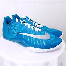 Nike Hyperlive TB Mens Basketball Shoes Sneakers 834488 302 Low Blue US Size 18